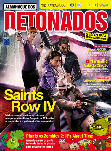Almanaque dos Detonados - Saints Row IV