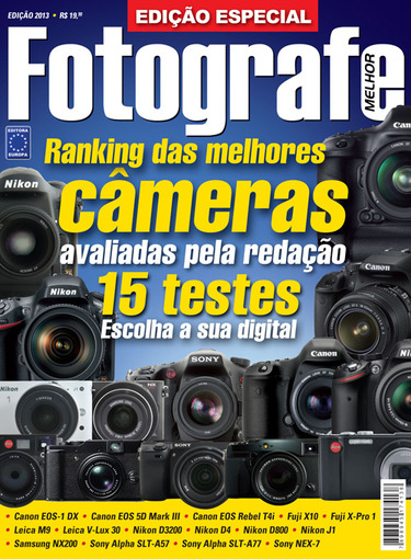Ranking de câmeras (Digital)